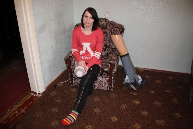 знакомства девушек без ног