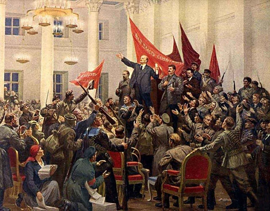 why were there two revolutions russia year 1917